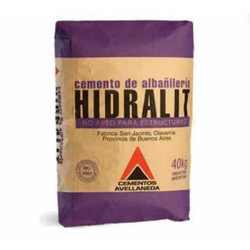 Cemento Hidralit x 40 kg