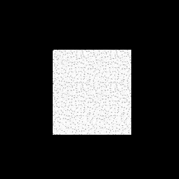Placa Brillianto Borde Recto Perforación 15 Y 24 mm