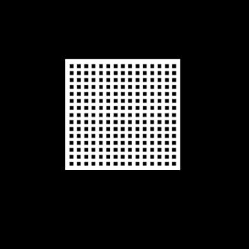 Deco Exsound Circular Borde Biselado 0.595 x 0.595 M