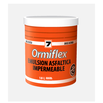 Emulsión Asfáltica Ormiflex 7 Balde x 18 L
