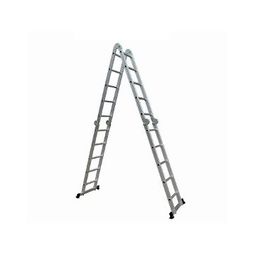 Escalera De Aluminio Articulada 20 Escalones Multiproposito 4 x 5