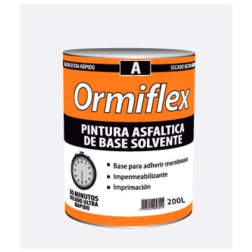 Pintura Asfáltica Ormiflex A Secado Rápido Tambor x 200 L