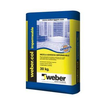 Weber Impermeable Con Ceresita x 30 kg